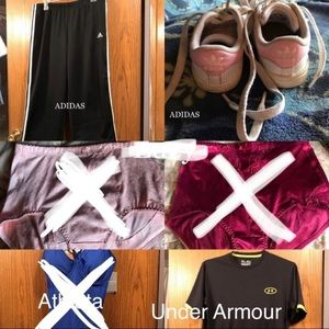 ACTIVEWEAR PARTY LISTINGS
